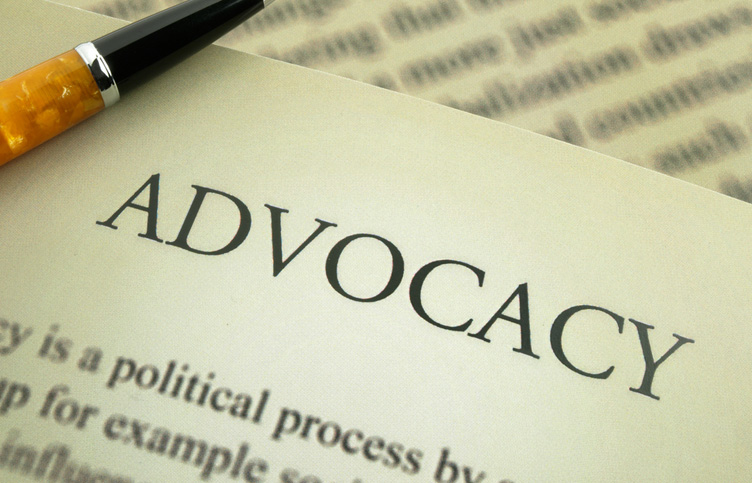 image of the word Advocacy