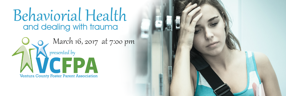 March 2017 Meeting – Behavioral Health and Dealing with Trauma